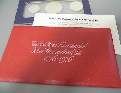 United States Bicentennial Silver Uncirculated Set 1776 - 1976