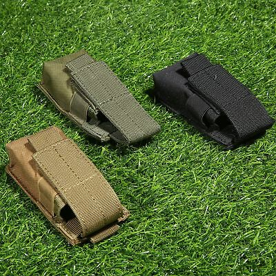 Utility Hunting Tool Magazine Holder Molle Single Pistol Pouch Holster 12×6×4cm