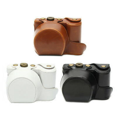 Camera Bag PU Leather Protective Case For Sony ILCE-6000/ILCE-6300 A6000/A6300