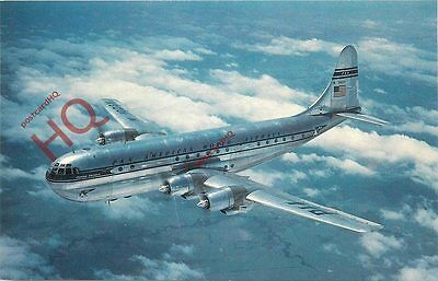 Picture Postcard-:PAN AMERICAN BOEING 377 STRATOCRUISER N1023V [FLF]