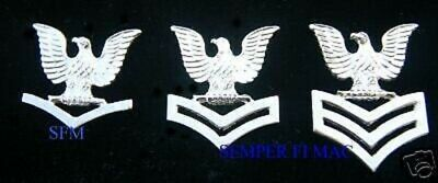 ONE XL 2nd CLASS PETTY OFFICER US NAVY HAT PIN E-5 PO2 USS CROW ENLISTED SAILOR