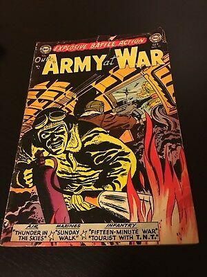 OUR ARMY AT WAR Comic No. 15 Fine Condition