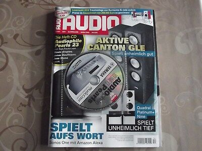 AUDIO 12/2017 HiFi High End Magazin mit CD Audiophile Pearls Canton Quadral