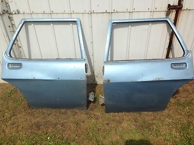 HQ HJ HX HZ Holden Wagon Rear Doors