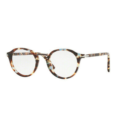 76cd1d7381019 Eyewear Persol PO 3185 V 1058 45 21 145 azure brown 100% Authentic new