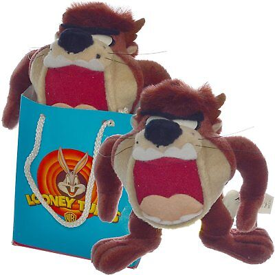 Play-By-Play 7 Inches Looney Tunes Taz Tasmanian Devil Plush Doll in a Gift Bag