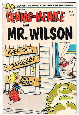 Dennis the Menace & His Friends #8 Featuring Mr. Wilson, Fine - VF Condition*