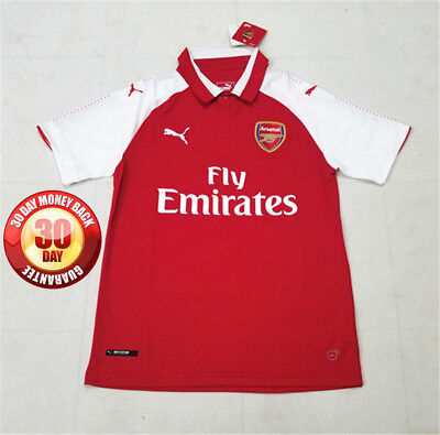 Arsenal Home Shirt 2017/18 Small, Medium, Large, Extra Large and XXL
