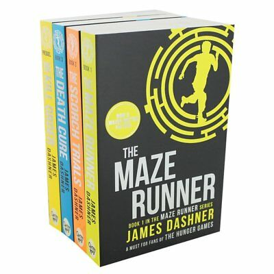 Maze Runner Trilogy Collection James Dashner 4 Books Set The Scorch Trials, The