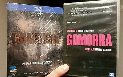 8 Blu Ray Gomorra Stagione 1 E 2 Serie Tv In 2 Cofanetti + Dvd Gomorra Sigillati