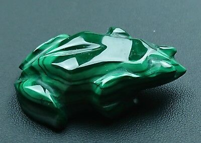 Malachite 30 grammes Grenouille - Natural frog Malachite