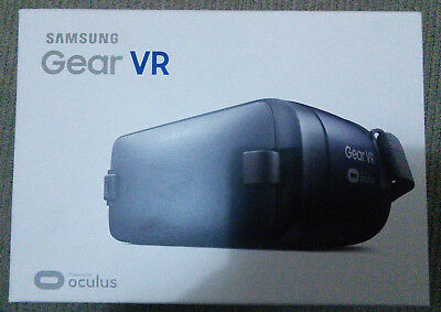 Free Post - Samsung Gear VR Oculus Headset Black Brand New Still Sealed