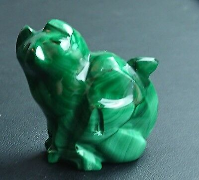 Malachite 84 grammes Chat - Natural cat Malachite