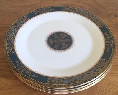 "Royal Doulton Carlyle First Quality  10 1/2"" Dinner Plates X4 (2 Sets Available)"
