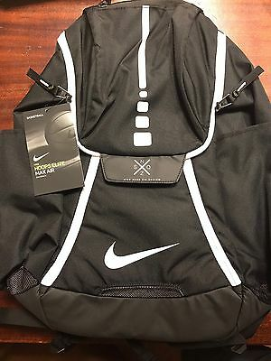 Brand New Nike Hoops Elite Max Air Team 2.0 Backpack Black/White FREE SHIPPING!