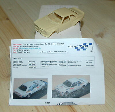 Bausatz Kit 1:43 Competition43 C0164 Opel Commodore B Gr. 2 Nürburgring 1973