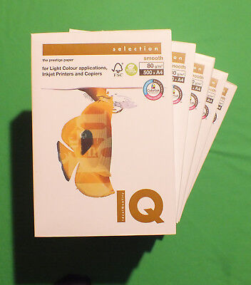 Kopierpapier Mondi IQ SELECTION SMOOTH, Druckerpapier, Schreibpapier
