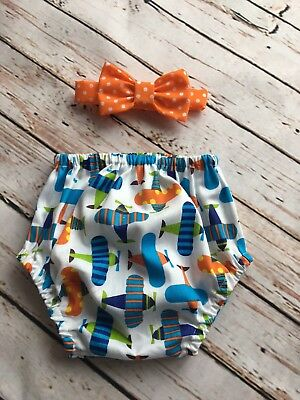 Airplane Baby Boy 1st Birthday Cake Smash Prop Outfit Handmade