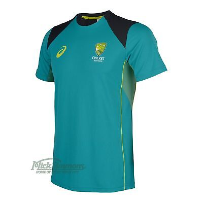 NEW Cricket Australia 2017/18 Training T-Shirt by Asics