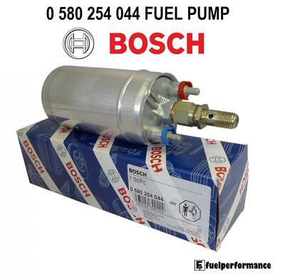 New Genuine Bosch 044 In-Line External Fuel Pump 0580254044 - Security Coded