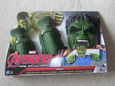 Marvel Avengers Age Of Ultron Hulk Muscles & Mask