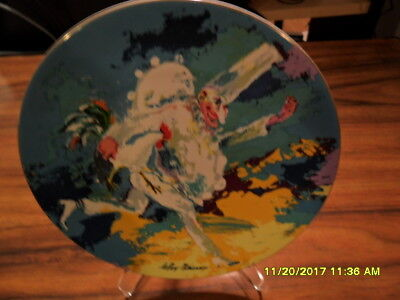"""""""PUNCHINELLO"""" by LEROY NEIMAN *Royal Doulton,1978. 4374/15,000 China Plate"""