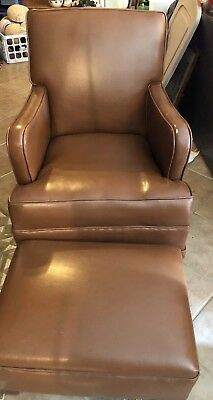 Vintage Rocking swivel Upholster Childs ? Chair. Shipping if buyer make arr