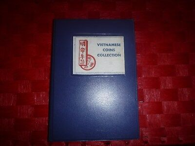 Vietnamese Coin Collection Of 24 Coins From That Late 1788-1964