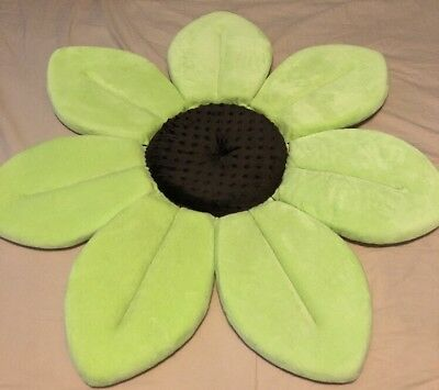 Blooming Flower Baby Bath In Lime Green