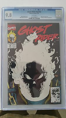 Ghost Rider V2 #15 Cgc 9.8 Deathwatch & Blackout App. White Pages