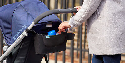 UPPAbaby Carry-All Parent Organizer Black   FAST SHIPPING.