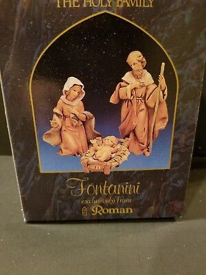Fontanini The Holy Family Figurine Set Exclusively from Roman