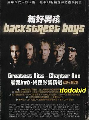 Backstreet Boys The Greatest Hits Chapter One [CD+DVD] Taiwan Edition Sealed BSB