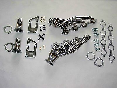 C10 APACHE CHEVY TRUCK LS SWAP HEADERS FLANGES LS1 LS6 LSX LS2 LS7 LS9 ONE PAIR