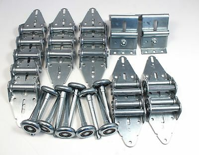 Garage Door Hinge and Roller Tune Up Kit for 10' X 10' and 12' X 10' w/ Options