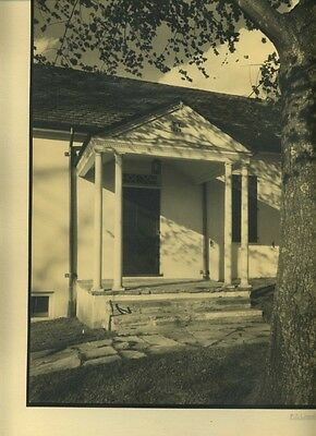 F.S. Lincoln. Building Exterior #2. Ex MOMA Collection. Vintage Photograph