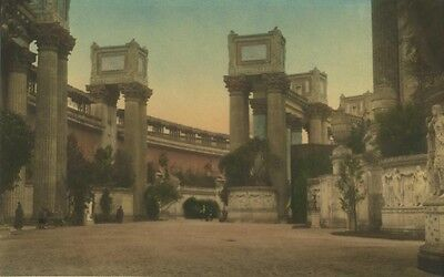 Palace Of Fine Arts. Panama Pacific Exposition. SF.1915