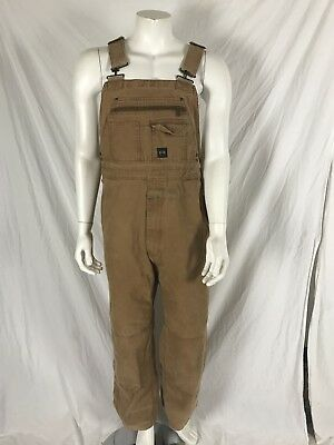 Key Cotton Logging/Work Overalls Men's 40x32