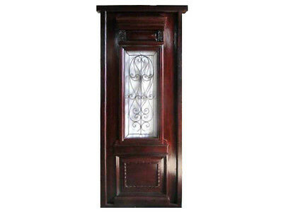 Fully Restored, Pre-Finished Single Entry Door #B1207