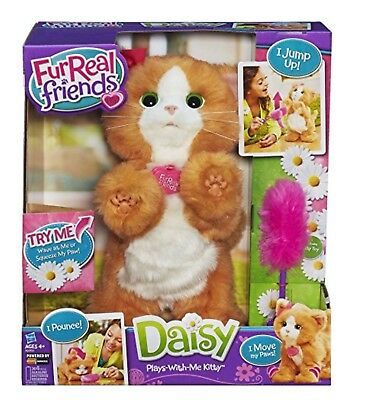Furreal Friends Daisy My Playful Kitten Plays With Me Kitty Ginger Cat Free Post