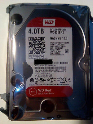 Western Digital Red Nas 4TB,Intern,5400RPM (WD40EFRX) NAS (Network Attached...