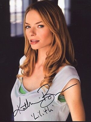 KATHERINE BOECHER Signed Photo SUPERNATURAL / CSI NY