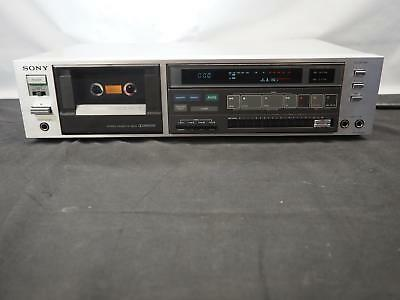 Vintage SONY TC-FX600 Single Cassette Deck Player  Works Great! Free Shipping!
