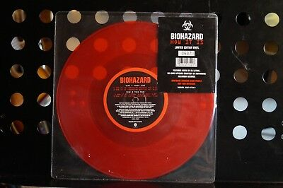 """Biohazard  How It Is  Red Vinyl, 10"""", 33 ⅓ RPM, Single, Limited Ed. Numbered,"""