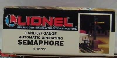Lionel 6-12727 Automatic Operating Semaphore   New