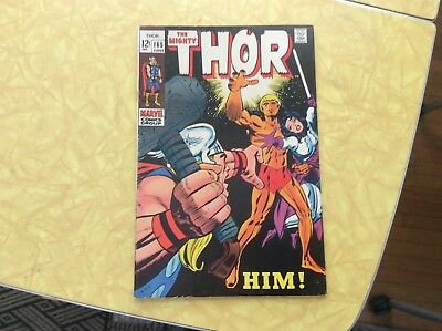 The Mighty Thor #165. Him! Nice Copy. !!!!