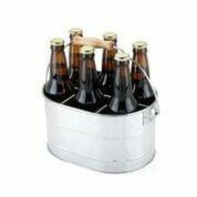 Country Home™: Galvanized Drink Caddy