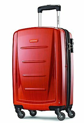 """Samsonite Luggage Winfield 2 Fashion 20"""" Spinner Carry On Suitcase - Orange NEW"""