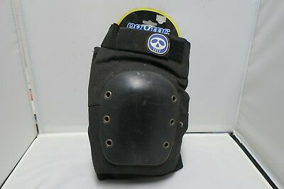 Pryme Hard Cap Knee Guard XL for Skate Board, BMX and Scooter