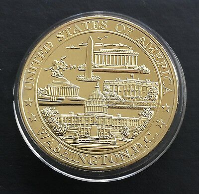 Washington D. C. USA Proof Token with Great Seal of US WA